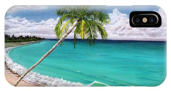 Wave Break Beach IPhone Case