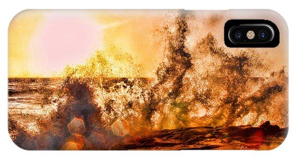 Wave Crasher La Jolla By Diana Sainz IPhone Case