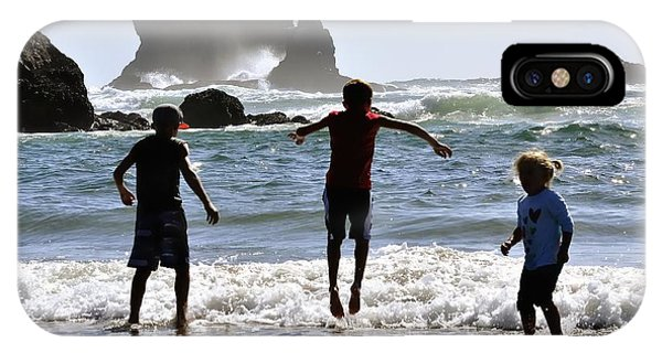 Wave Jumping 25614 IPhone Case