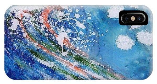 Wave Phone Case by Rooma Mehra