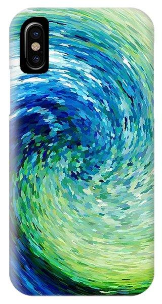 Wave To Van Gogh IPhone Case