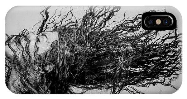 Hair iPhone Case - Wave by Vahid Varasteh