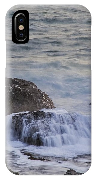 Waves Breaking Off Marginal Way IPhone Case