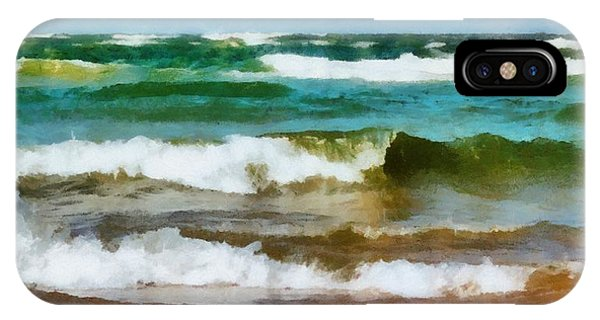 Waves Crash IPhone Case