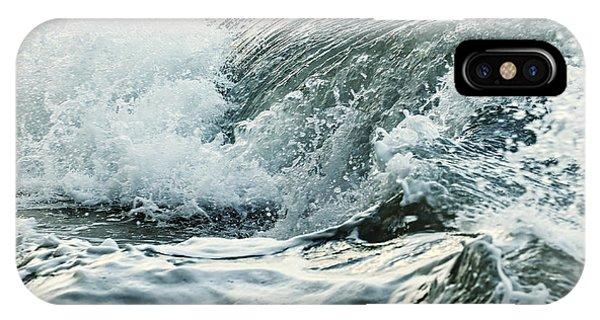 Ocean iPhone Case - Waves In Stormy Ocean by Elena Elisseeva