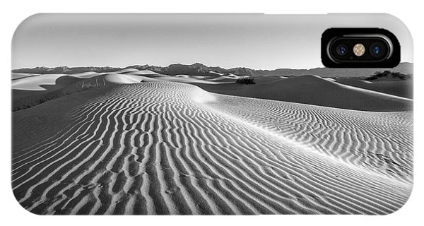 Desert iPhone Case - Waves In The Distance by Jon Glaser