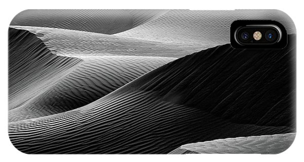 Dunes iPhone Case - Waves In The Sand by Pieter Joachim Van