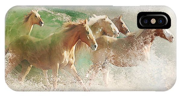 Waves Of God's Glory IPhone Case