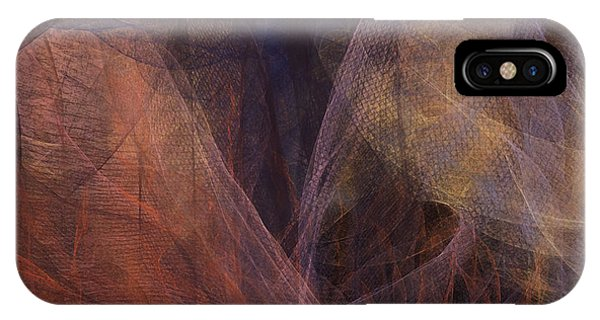 Waves Of The Heart IPhone Case