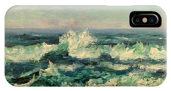 Waves Painting IPhone Case