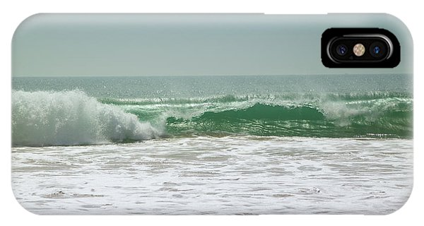 Tropes iPhone Case - Waves by Gina Koch