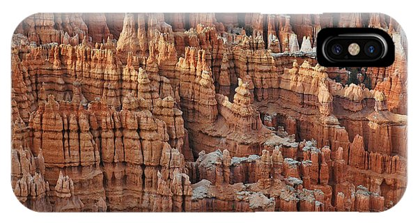 Waving Spires In Bryce Canyon National Park IPhone Case