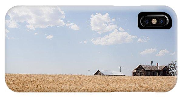 Waving Wheat Homestead IPhone Case
