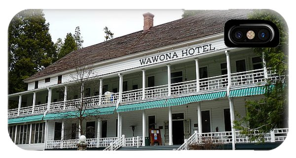Wawona Hotel In Yosemite  IPhone Case