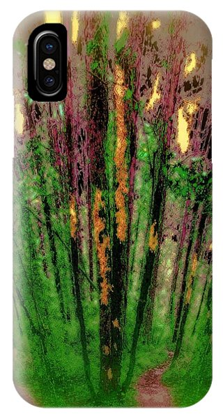 Wax Forest Cathedral IPhone Case