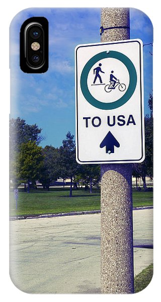 Way To The Usa IPhone Case
