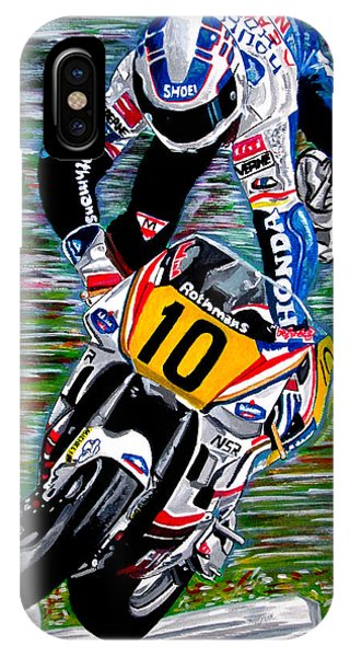 Wayne Gardner Phone Case by Jose Mendez