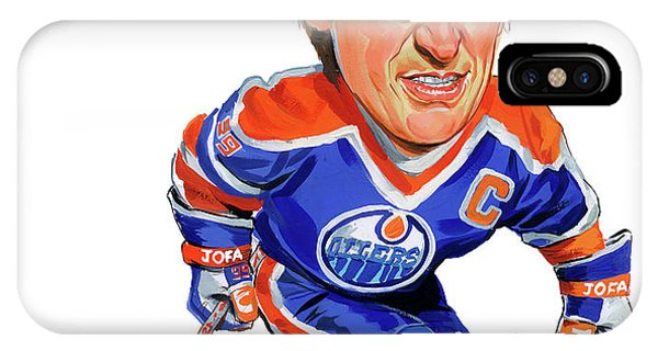Superior iPhone Case - Wayne Gretzky by Art