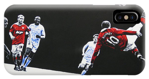 Wayne Rooney - Manchester United Fc IPhone Case