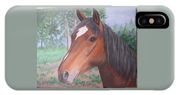 Wayne's Horse IPhone Case