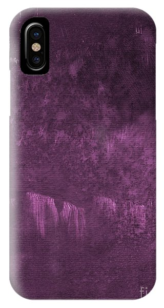 Orchid iPhone X Case - We Are Royal by Linda Woods