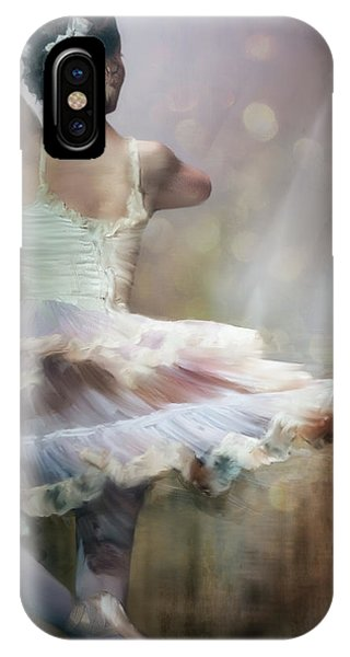 Ballerina iPhone Case - We Danced To A Whispered Voice... by Charlaine Gerber