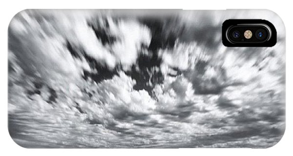 iPhone Case - We Have Had Lots Of High Clouds And by Larry Marshall