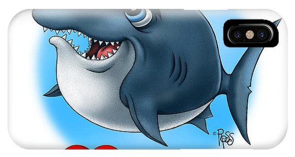 We Love Tourists Shark IPhone Case