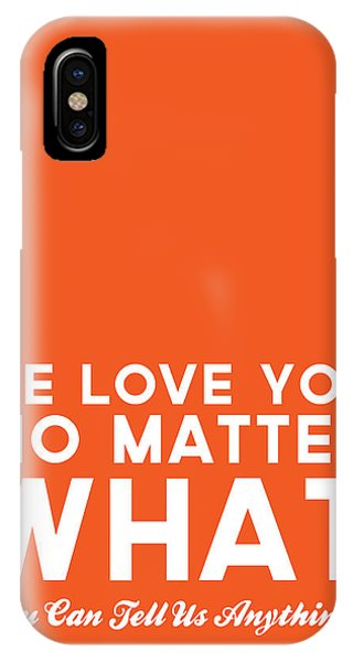 Students iPhone Case - We Love You No Matter What - Greeting Card by Linda Woods