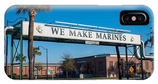 We Make Marines IPhone Case