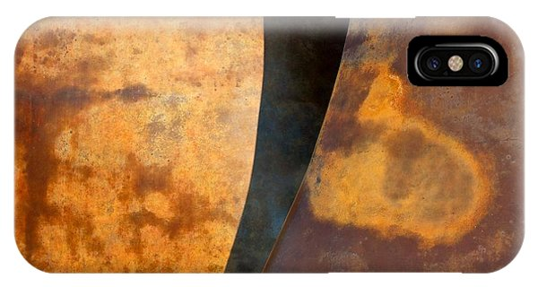 Weathered Bronze Abstract IPhone Case