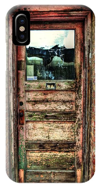 Weathered Door IPhone Case