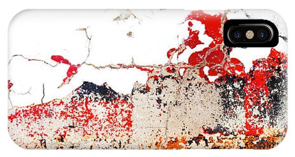Weathered Sign Pano 2094 5 6 Phone Case by Bob Hills