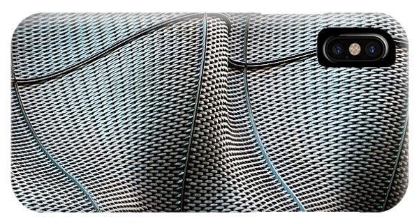 Metal iPhone Case - Weave by Linda Wride
