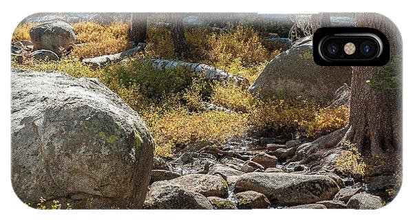 Weaver Lake 1-7699 IPhone Case