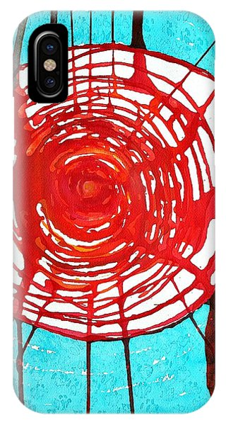 Web Of Life Original Painting IPhone Case