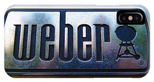 Weber IPhone Case