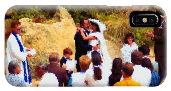 Wedding At Loch Ard Gorge IPhone Case