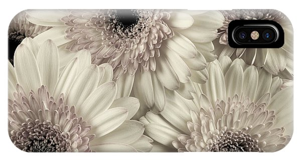 Wedding Bouquet -gerbera Duotone IPhone Case