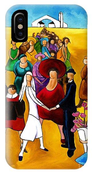 Wedding Holding Hands IPhone Case