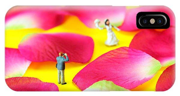 Wedding Photography Little People Big Worlds IPhone Case