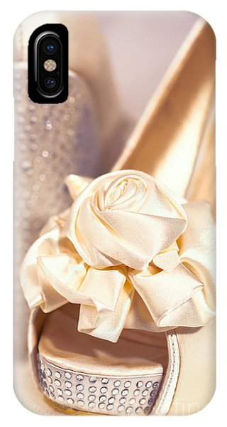 Bridal iPhone Case - Wedding Shoes by Amanda Elwell