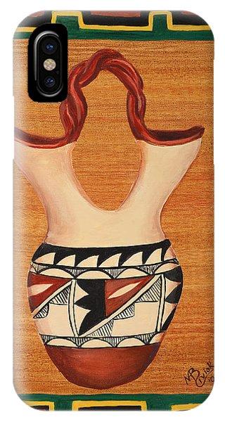Wedding Vase Phone Case by Mary Anne Civiok