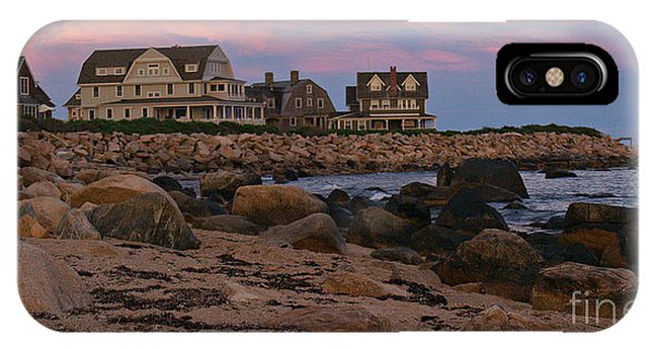 Weekapaug Ri Sunset Panorama IPhone Case