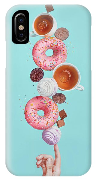 Cake iPhone Case - Weekend Donuts by Dina Belenko