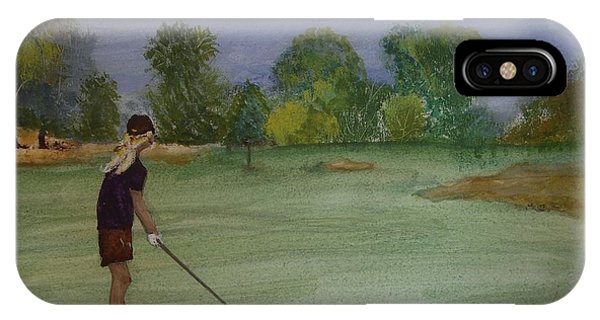 Weekends Were Made For Golf IPhone Case