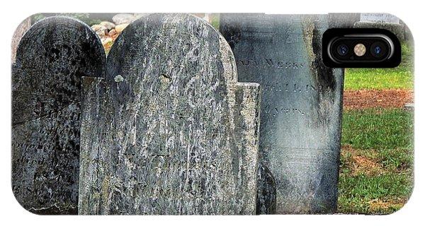 Weeks Cemetery IPhone Case