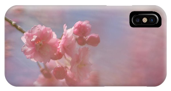 Weeping Cherry Blossoms IPhone Case
