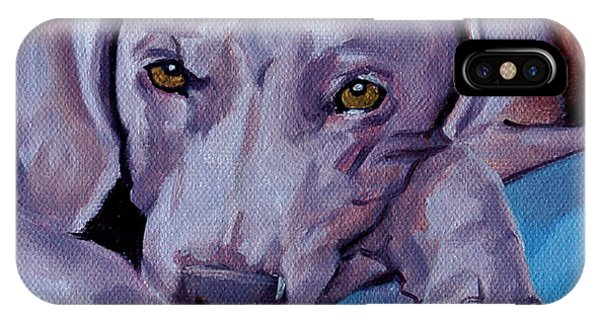 Weimaraner IPhone Case