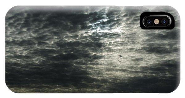 Weird Clouds IPhone Case